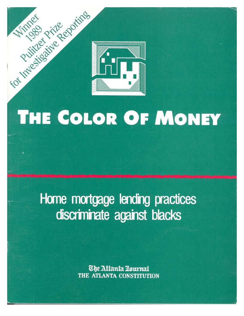 Cover of Color of Money reprint