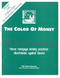 The Color of Money reprint cover image