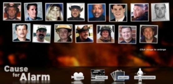 Photos of firefighters killed on the job